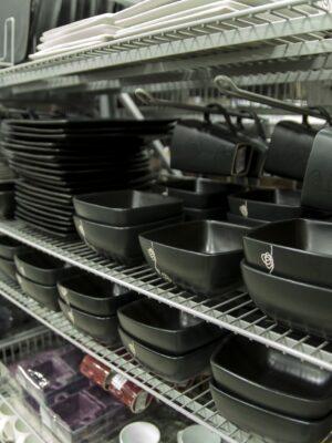 Shelved racks